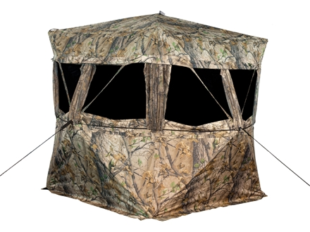 "Big Game VS360 Ground Blind 77"" x 77"" x 70"" Polyester Epic Camo"