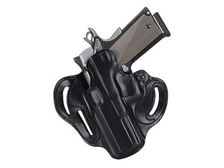 "DeSantis Speed Scabbard Belt Holster Left Hand Taurus Judge 3"" Barrel Leather Black"