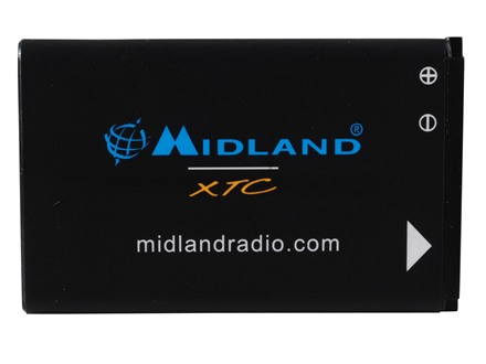 Midland High Definition Action Camera Replacement Battery XTC300/350 1050 mA