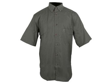Browning Badger Creek Shooting Shirt Short Sleeve Cotton