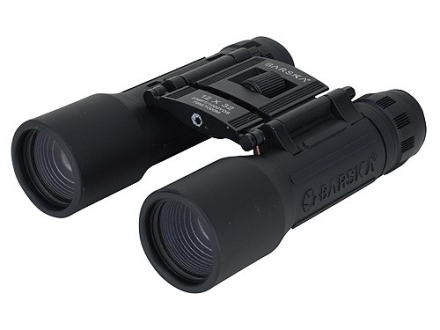 Barska Lucid View Binocular 12x 32mm Roof Prism Rubber Armored Black