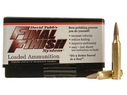 Tubb Final Finish Bore Lapping Ammunition 7mm Remington Magnum Box of 20