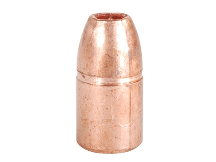 Copper Only Projectiles (C.O.P.) Solid Copper Bullets 357 Magnum (357 Diameter) 125 Grain Hollow Point Lead-Free Box of 50