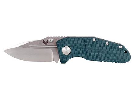 """Benchmade 755 MPR Tactical Folding Knife 3.4"""" Spear Point M390 Steel Blade G-10 Handle Green"""
