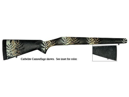 Bell and Carlson Carbelite Classic Rifle Stock Savage 110 Series Long Action Blind Magazine Synthetic Black with Gray Spiderweb