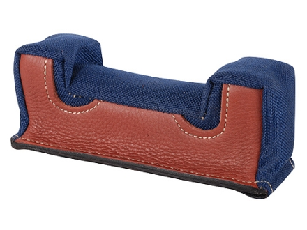 Edgewood Front Shooting Rest Bag Farley Varmint Width Leather and Nylon Navy Blue Unfilled
