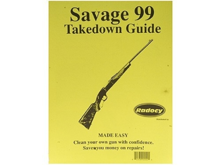"Radocy Takedown Guide ""Savage 99"""