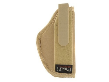 Uncle Mike's Belly Band/Body Armor Holster Ambidextrous Small Frame Semi-Automatic22 Caliber, 25 ACP 4-Layer Laminate Tan