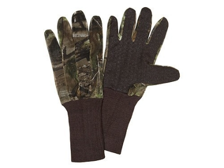 Hunter's Specialties Dot Grip Gloves Mesh Polyester Realtree APG Camo