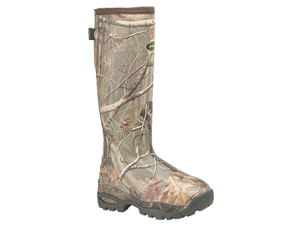 "LaCrosse Alpha Burly Sport 18"" Waterproof 800 Gram Insulated Hunting Boots Rubber Clad Neoprene Realtree AP Camo Women's 7"