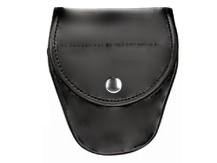 Bianchi 7900 AccuMold Elite Covered Cuff Case Chrome Snap Trilaminate Black