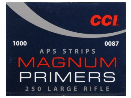CCI Large Rifle APS Magnum Primers Strip #250