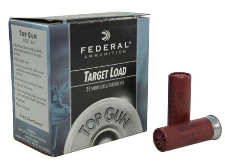 """Federal Top Gun Ammunition 12 Gauge 2-3/4"""" 1oz #7-1/2 Shot"""
