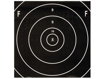 NRA Official F-Class Rifle Target Repair Center MR-65FC 500 Yard Paper Package of 100