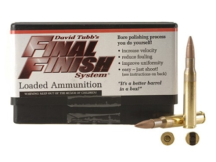 Tubb Final Finish Bore Lapping Ammunition 30-06 Springfield Box of 20