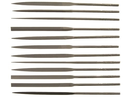 Nicholson 12-Piece Swiss Cut #2 Needle File Set