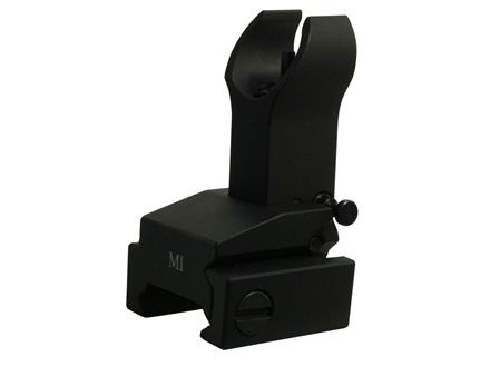 Midwest Industries Flip-Up Front Sight Gas Block Height AR-15 Aluminum