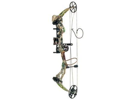 "Parker Velocity Compound Bow Package Right Hand 50-70 lb 26""-31"" Draw Length Realtree Advantage Timber Camo"
