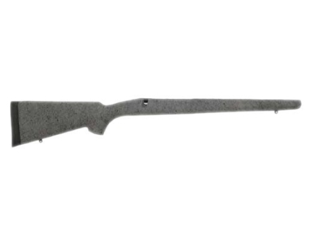 H-S Precision Pro-Series Rifle Stock Remington 700 ADL Short Action Factory Barrel Channel Synthetic Gray with Black Web
