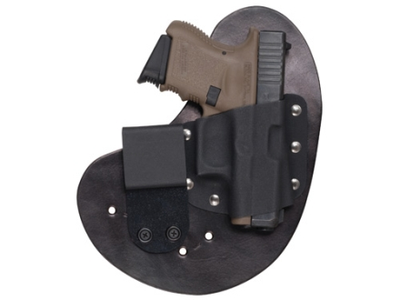 CrossBreed QwikClip Inside the Waistband Holster Right Hand Steyr M9A1, M40A1  Kydex and Cow Hide Black