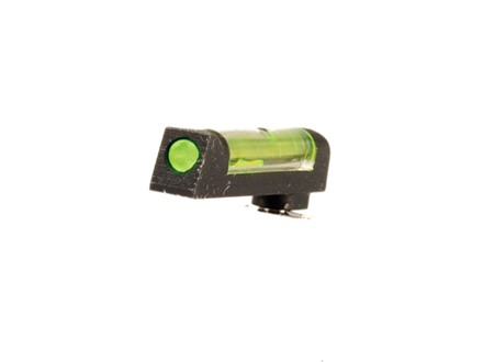 "HIVIZ Front Sight Glock All Models (Except Compensated) .162"" Height Steel .080"" Diameter Fiber Optic Green"