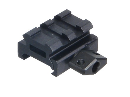 Leapers UTG Low Profile 2-Slot Compact Picatinny-Style Riser Mount AR-15 Flat-Top Matte