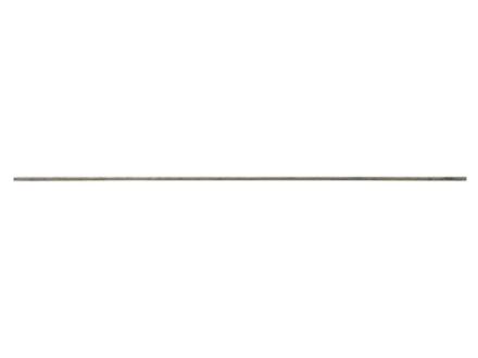 """Baker Aluminum Round Rod 1/8"""" Diameter 18"""" Length"""