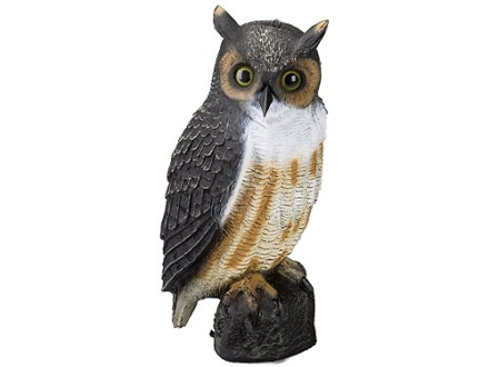 Carry-Lite Great Horned Owl Decoy Polymer 16""