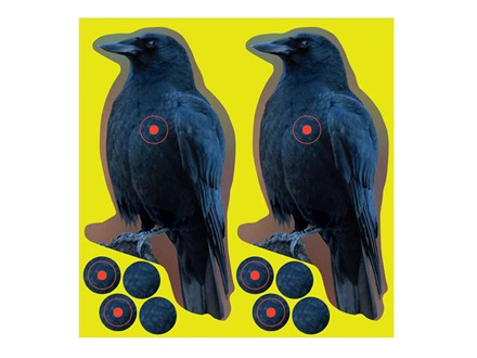 "Birchwood Casey Shoot-N-C Crow Targets 8"" Package of 12"