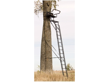 Big Game The Sky Rise Ladder Treestand Steel Black