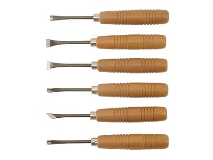 Robert Larson Carving and Inletting Chisel Set 6-Piece