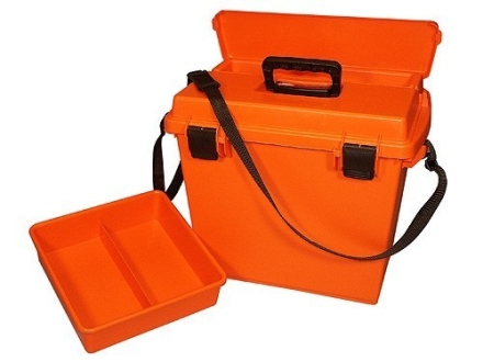 "MTM Sportsman Plus Utility Dry Box 18"" x 13"" x 15"" Orange"