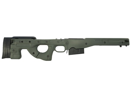 Accuracy International Chassis System (AICS) 1.5 Adjustable Stock Remington 700 Long Action 338 Lapua Magnum
