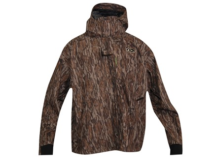 Drake Men's EST Heat Escape Full Zip Waterproof Jacket Polyester Mossy Oak Bottomland Camo Medium