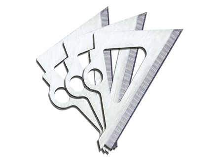 Muzzy Trocar Broadhead Replacement Blades Stainless Steel Pack of 9
