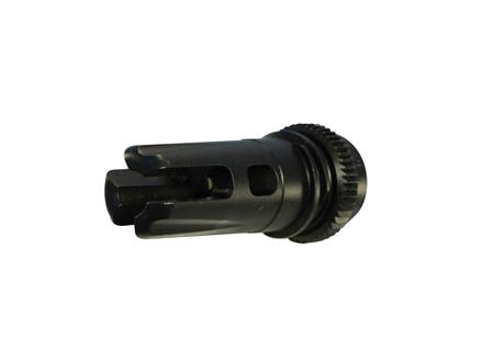 "Advanced Armament Co (AAC) Brakeout 2.0 Flash Hider Muzzle Brake 51-Tooth Ratchet Suppressor Mount 5.56mm AR-15 1/2""-28 Thread Steel Matte"