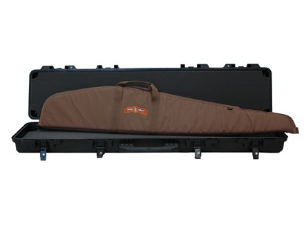 "Boyt H48 Scoped Rifle Gun Case with Solid Foam Insert Polymer with 48"" Scoped Rifle Case Nylon"