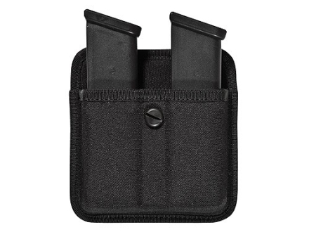 Bianchi 8020 Triple Threat 2 Magazine Pouch Double Stack 9mm Luger, 40 S&W Magazines Nylon Black
