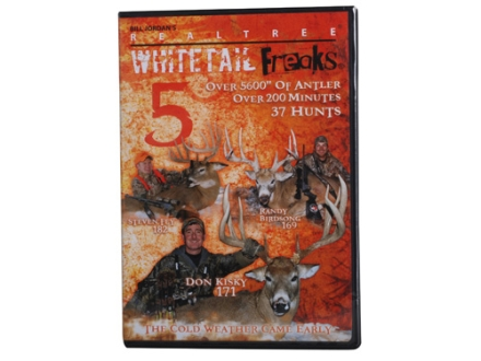 Realtree Whitetail Freaks 5 Video DVD