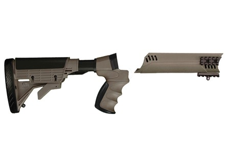 Advanced Technology Talon Tactical 6-Position Collapsible Stock and Forend Set with Triton Mount & Scorpion Recoil System Mossberg 500, 590, 835, Maverick 88 12 Gauge