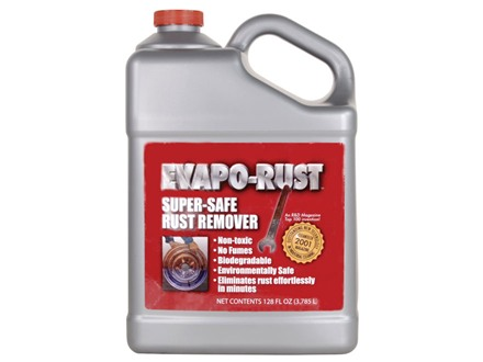 Evapo-Rust Blue and Rust Remover 1 Gallon Liquid