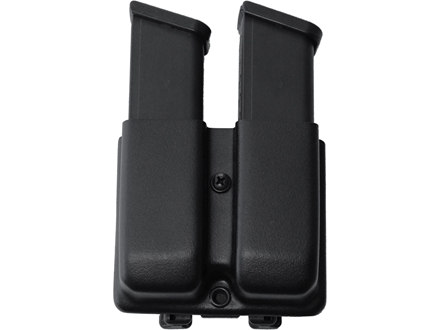 Blade-Tech Double Magazine Pouch Right Hand Double Stack Glock 9mm, 40 S&W Magazines Tek-Lok Kydex Black
