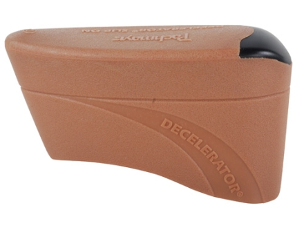 "Pachmayr Decelerator Recoil Pad Slip-On fits 5-3/16"" to 5-7/16"" High x 1-3/4"" Wide x 3/4"" Thick Rubber Brown Large"