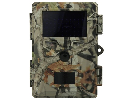 Uway Vigilante Hunter VH200B Black Flash Infrared Game Camera 8 Megapixel with Viewing Screen Camo