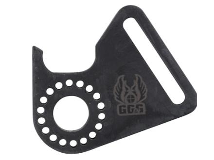 GG&G Front Sling Mount Adapter Mossberg 500 12 Gauge Steel Matte