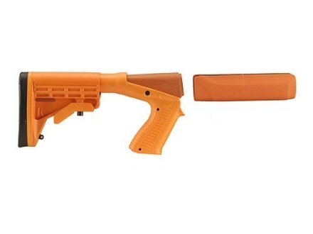 Blackhawk Knoxx SpecOps Gen 2 NRS Adjustable Length of Pull Stock with Forend Remington 870 12 Gauge Synthetic Orange