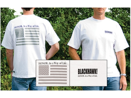 BlackHawk Branded Honor Short Sleeve T-Shirt Cotton