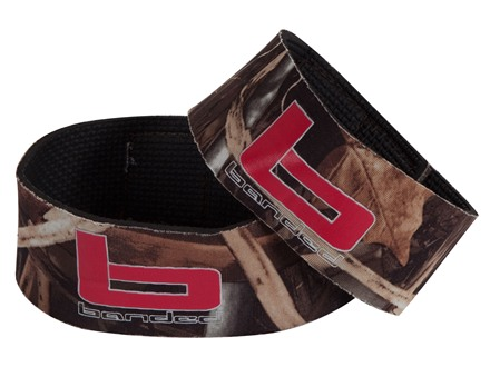 Banded Gear Ankle Garter Neoprene Realtree Max-4 Camo Pack of 2