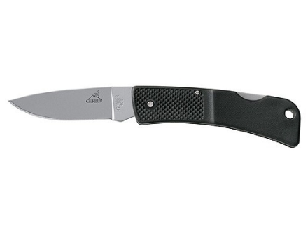 "Gerber L.S.T. Folding Knife 2-3/8"" 420HC Stainless Steel Blade Polymer Handle Black"