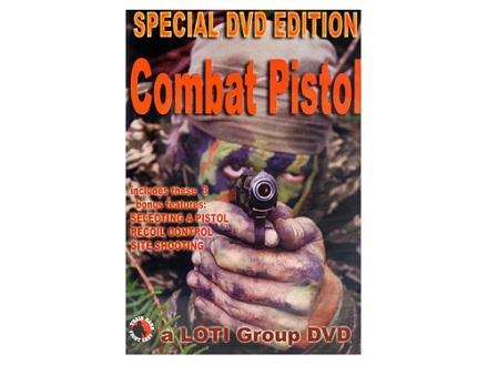 """Gun Video """"Combat Pistol Featuring John Shaw"""" DVD"""